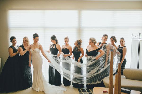Claudia testa wedding