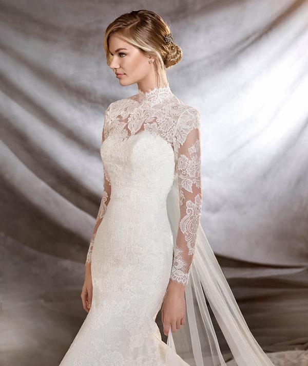 wedding dress neckline