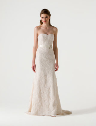 Anne Barge Blue Willow Bride Wedding Dress Eden