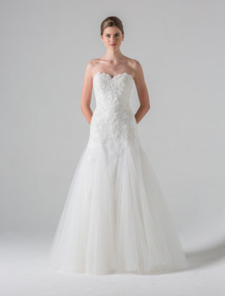 Anne Barge Blue Willow Bride Ivy Wedding Dress
