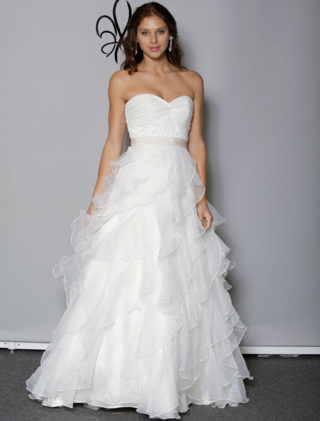 Anne Barge Blue Willow Bride Lyric Wedding Dress
