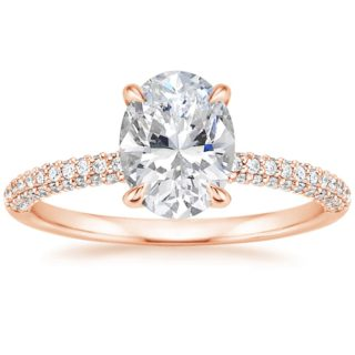 Brilliant Earth Rose Gold Diamond Engagement Wedding Ring