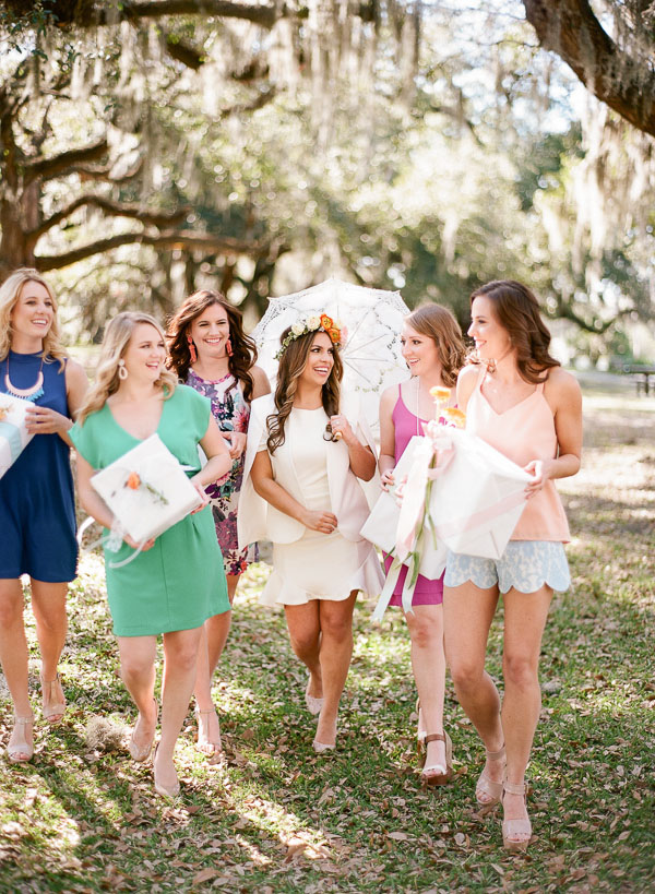 where to have a bridal shower