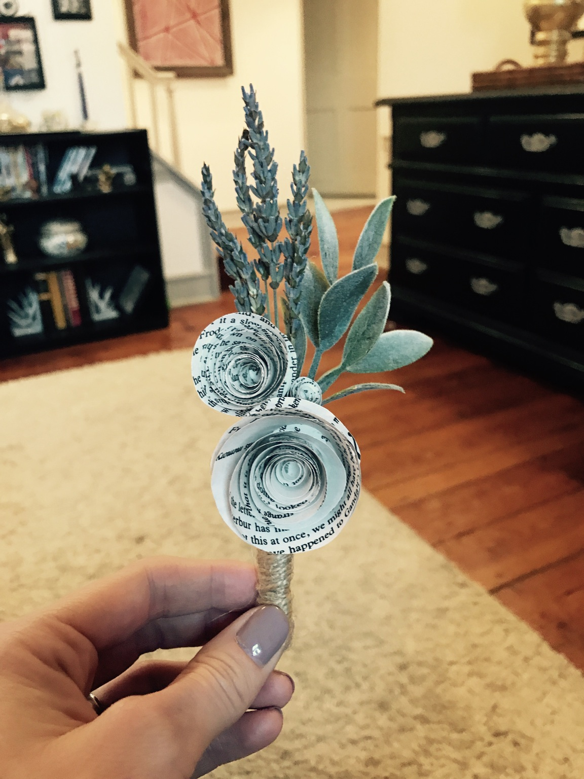 book boutonniere