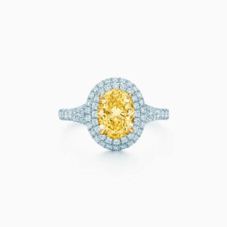 Tiffany & Co. Yellow Diamond Engagement Wedding Ring